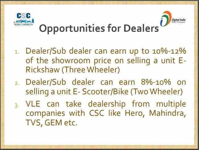 e rickshaw earning