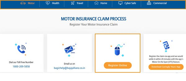 bajaj-insurance-register-online