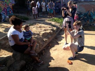 Favela in Brasilien. Bild: Steffi Fetz, Lisa Altmeier