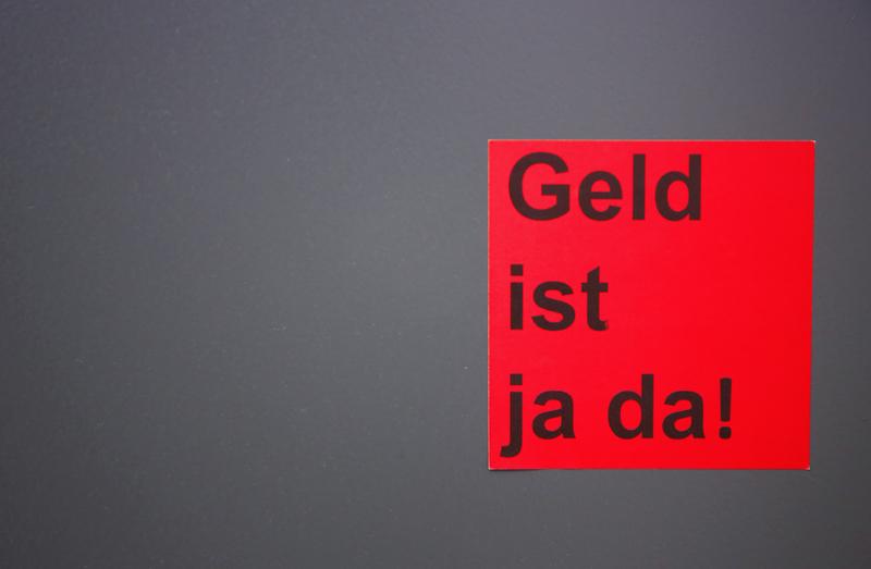 Um Geld verhandeln. Bild: MrNico/photocase.de