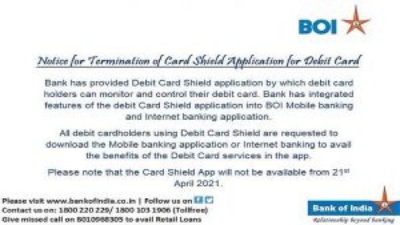 Boi Card Shield App