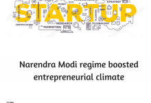 Photo of Narendra Modi regime boosted entrepreneurial climate