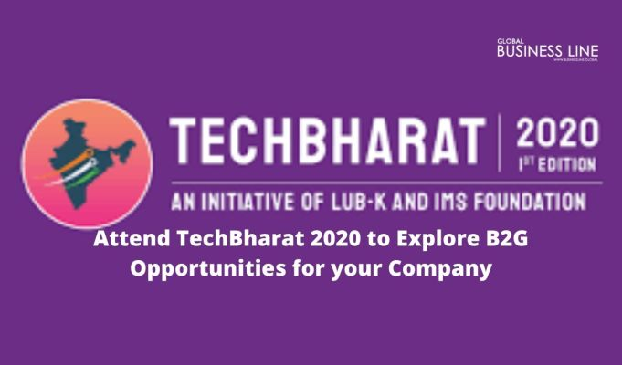 Attend TechBharat 2020 to Explore B2G Opportunities for your Company