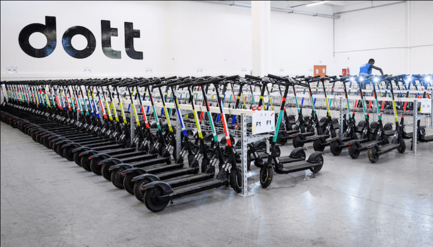 Dott, an e-scooter and micro-mobility startup raises $** million -- Business News, Startup News, World News, Diplomatic News around the World- Global Business Line