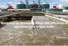 Workshop on Increasing Water Use Efficiency in Industries held in New Delhi