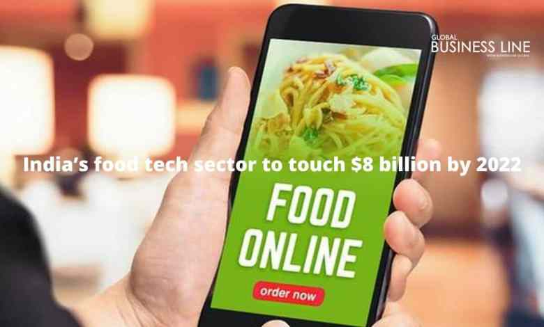 India's food tech sector to touch $8 billion by 2022