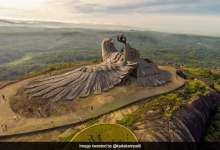 World's largest bird sculpture Jatayu sculpture will be inaugurated in Kerala
