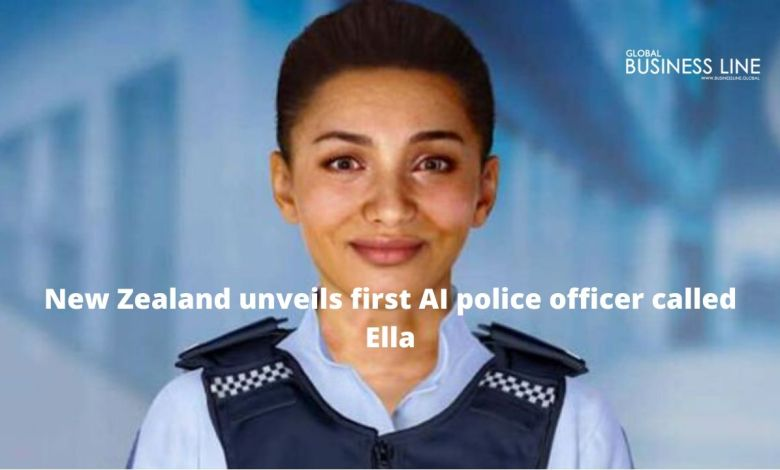 New Zealand unveils first AI police officer called Ella
