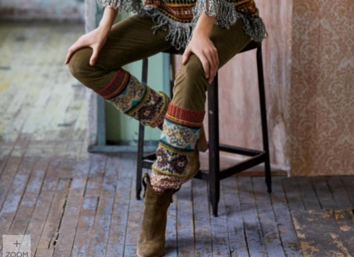 Baby alpaca legwarmers from Peruvian Connection