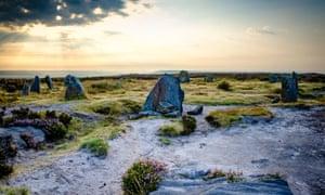 The Twelve Apostles stones, Ilkley Moor