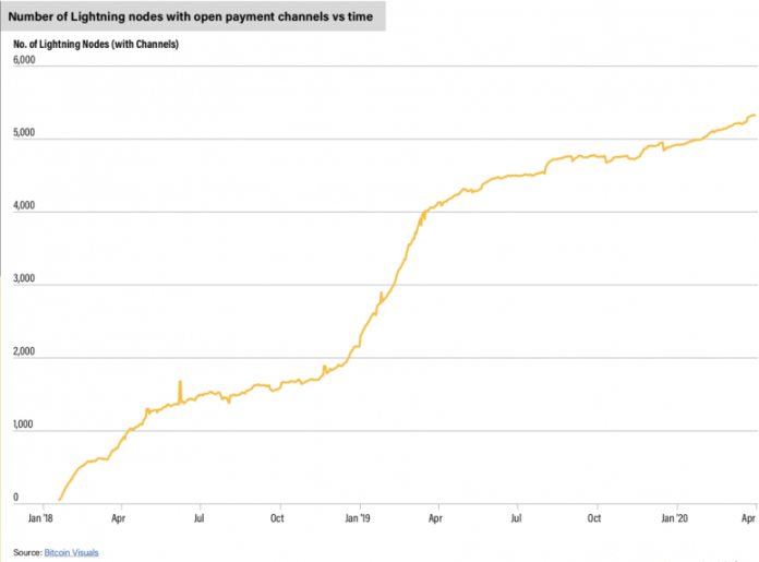 Quarterly crypto analysis: growth in Lightning nodes shows interest in bitcoin as a payments network