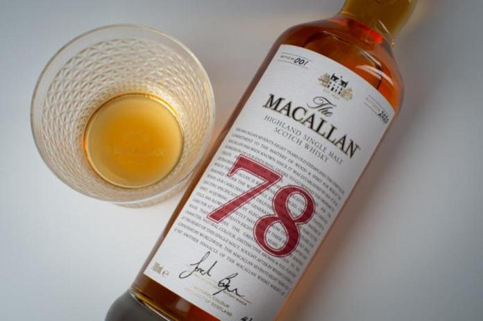macallan 78 year-old