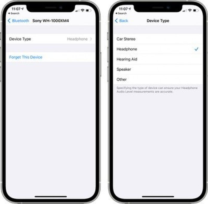ios 14 4 bluetooth device type