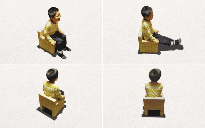masuisu chair made of japanese traditional wooden box 8