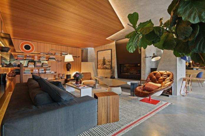 media room inside pascale gomes-mcnabb modern 25 Neerim Castle Cove, Sydney, Australia