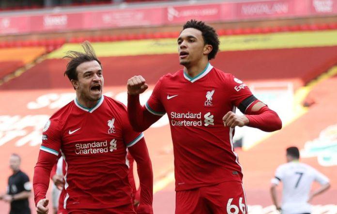 Soccer: Late Alexander-Arnold strike earns Liverpool 2-1 win over Villa