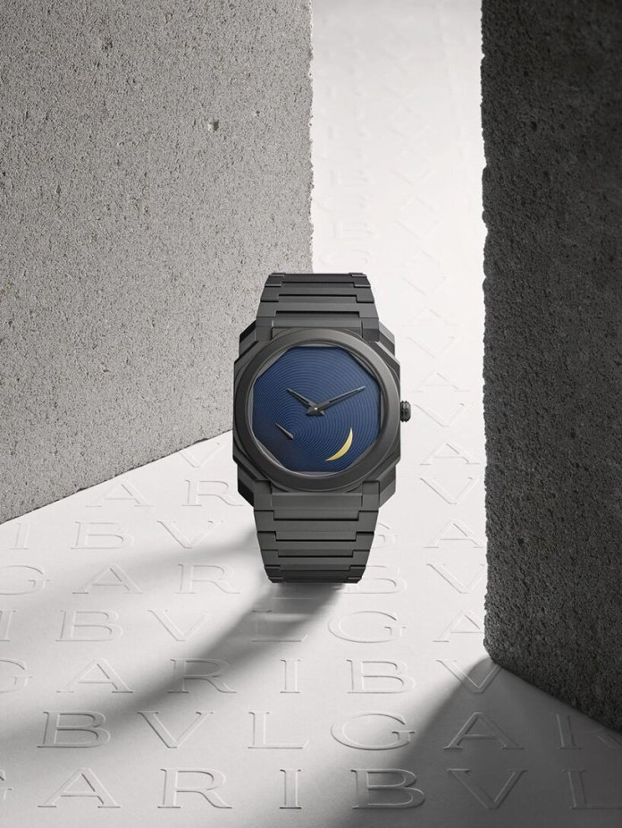 tadao ando unveils second octo finissimo watch for bulgari at watches and wonders 2021