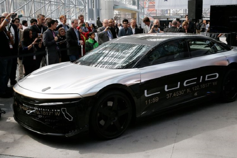 EV Maker Lucid Soars 27% On Merging With Michael Klein's SPAC