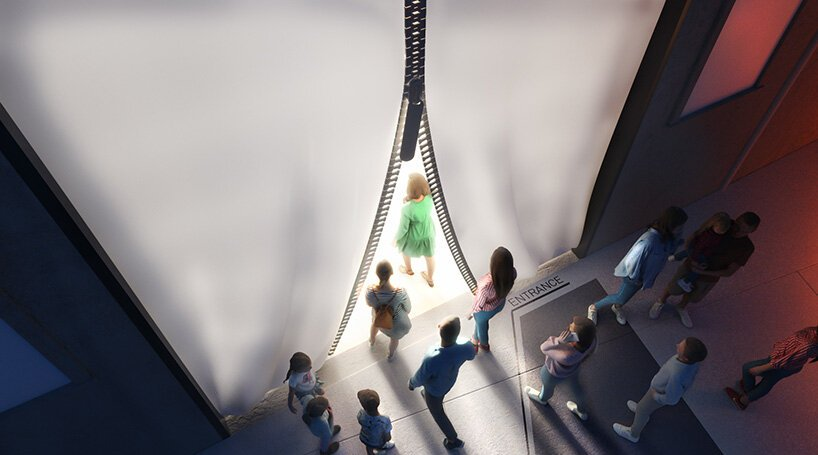carlo ratti + italo rota reveal plans for a museum dedicated to carbon fiber in italy