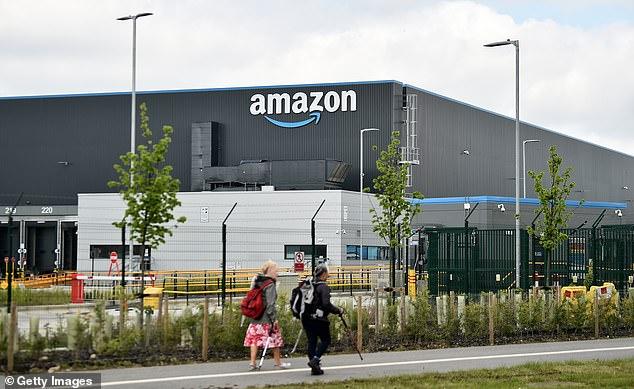 Hiring spree: Amazon is looking to fill 20,000 seasonal jobs across the UK this Christmas