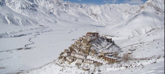 Kye monastery Spiti Valley