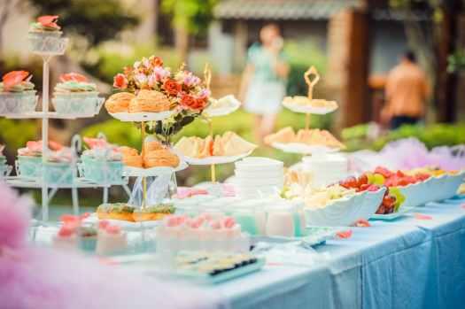 baby shower birthday buffet 587741