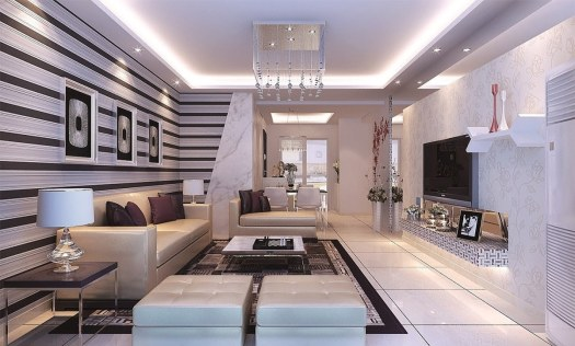 luxurious living space
