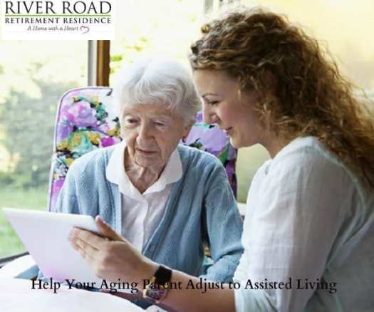 help aging parent to assisted living