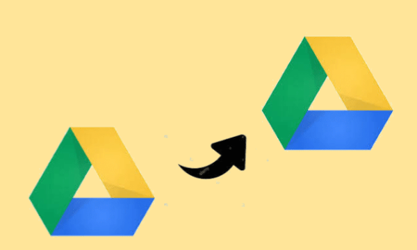 Transfer files from Google Drive to Another Account