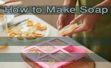 Soap making at home e564159c