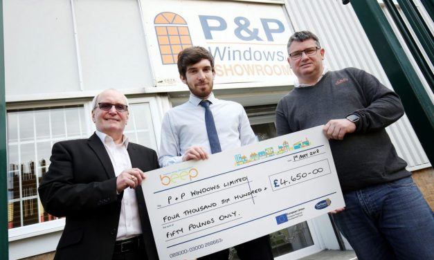 EU experts praise energy efficiency project which helped Peterlee company