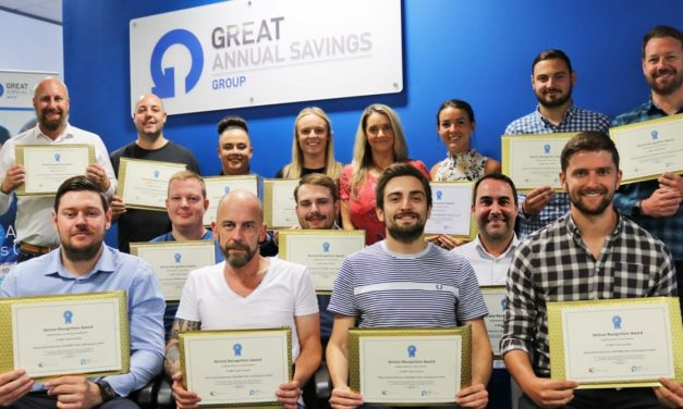 Staff at Seaham company GAS rewarded for long service