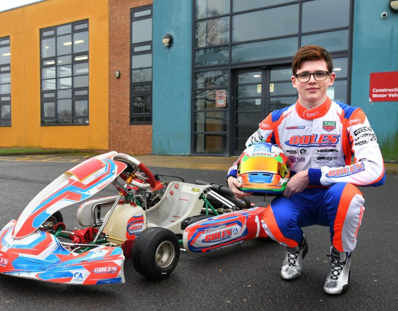 Life in the fast lane for talented young County Durham driver