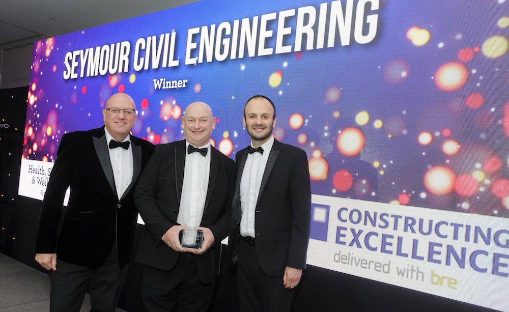 Hartlepool civil engineering firm rounds off 40th year with national award win