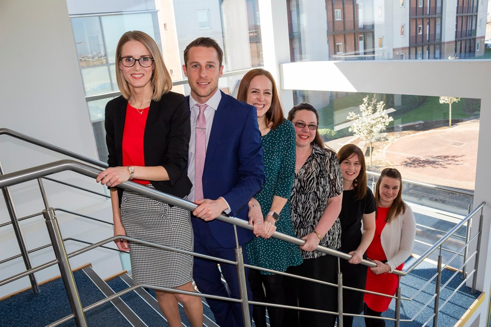 Hit for six as Teesside law firm confirms several internal promotions
