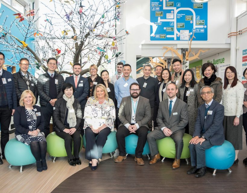 North East LEP welcomes international delegation as part of Gatsby Benchmarks visit