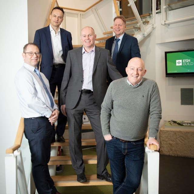 Esh Construction welcomes new additions to its commercial build team