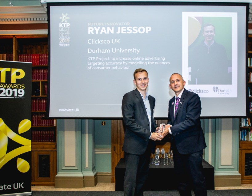 Teesside marketing and data management employee wins prestigious innovation award