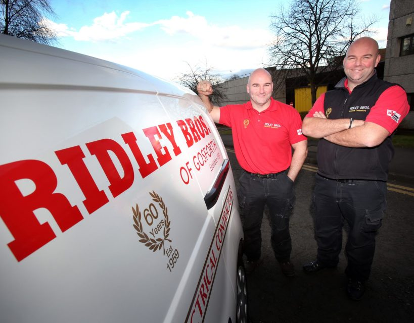 Family-run electrical firm targets growth as it marks 60 years in business