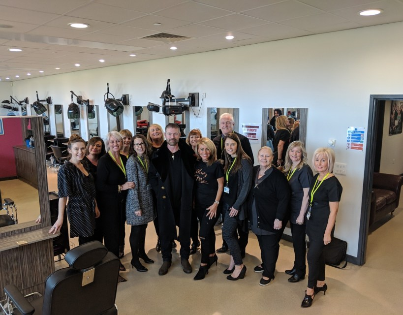 East Durham College launches Lee Stafford Hairdressing Academy