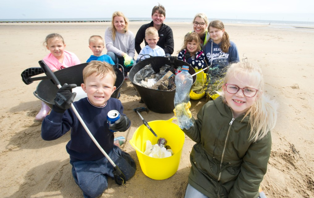 Pupils discover why plastic is not so fantastic as they learn about recycling