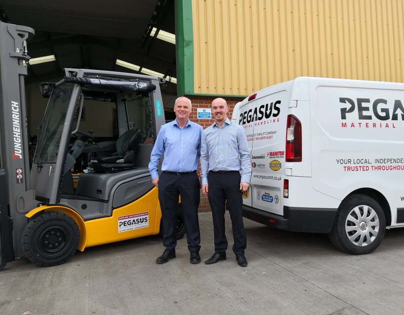 Forklift truck company spreads its wings as expansion continues