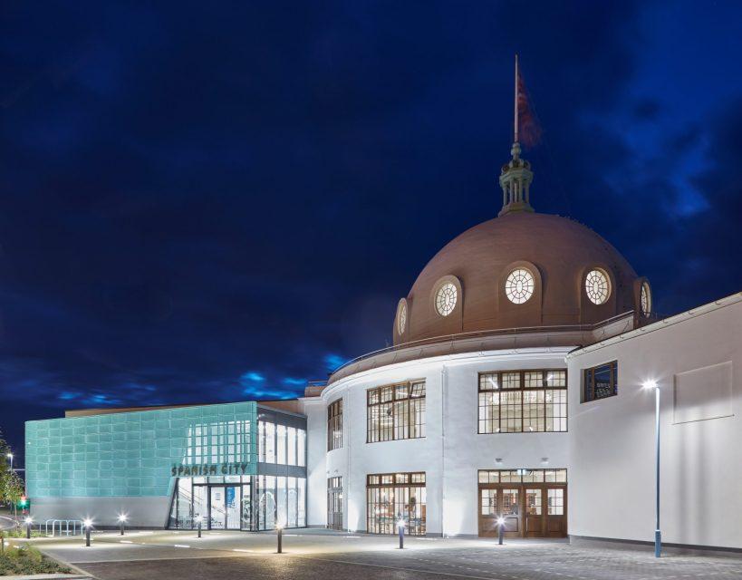 Grade II listed Spanish City undergoes 'hole' new restoration