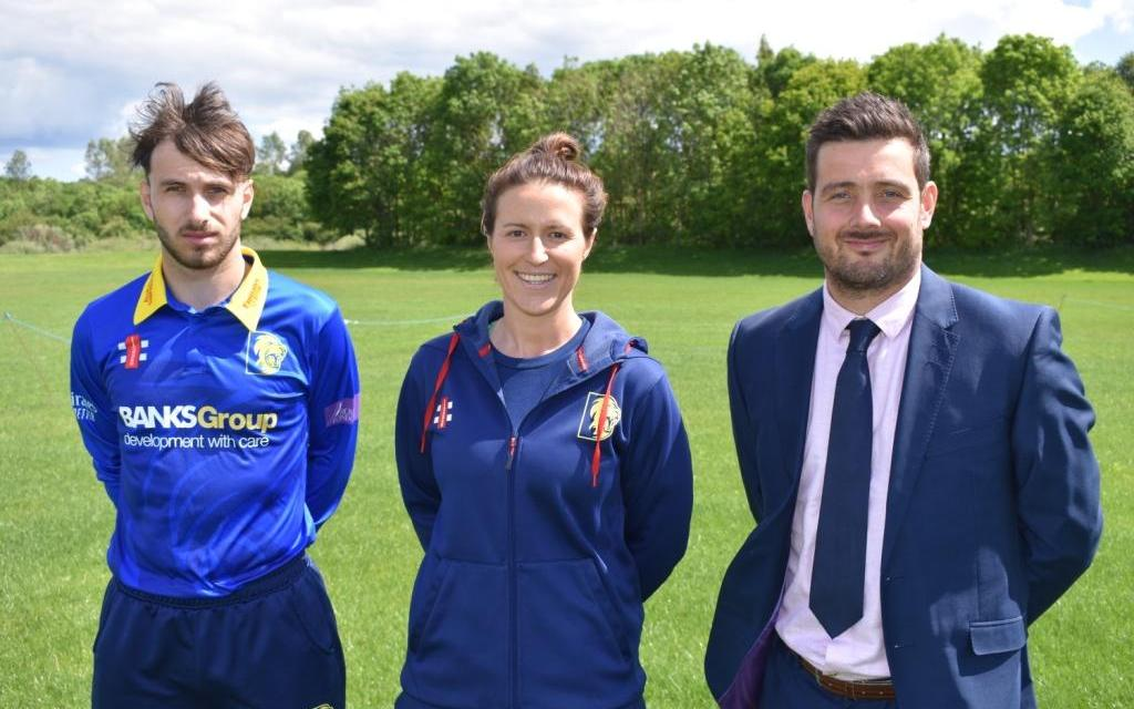 £25,000 grant supports cricket club's plans to build new nursery facilities