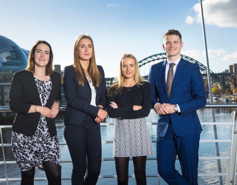 First class performance as apprentice solicitors win prestigious law school prize