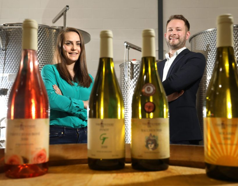 Winery says cheers as five figure investment enables production to begin on new range