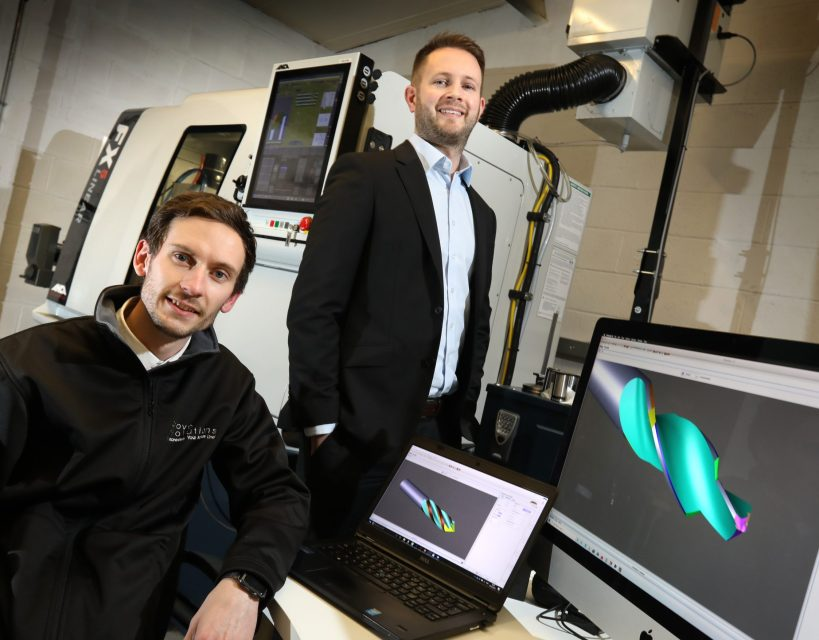 Rotary tool manufacturer plans for growth after securing five-figure investment