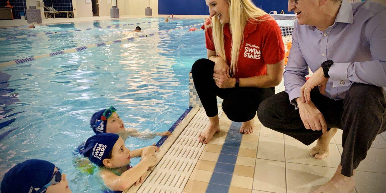 Rebecca Adlington brings her SwimStars initiative to Tyneside