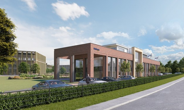 Work resumes on Bellway's multi-million pound headquarters at new flagship business park