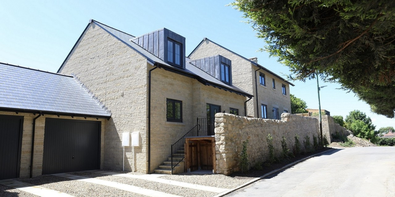 Small luxury housing development near Hadrian's Wall reaches completion